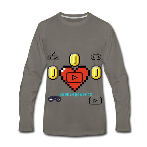 Zombiepower12 - Men's Premium Long Sleeve T-Shirt