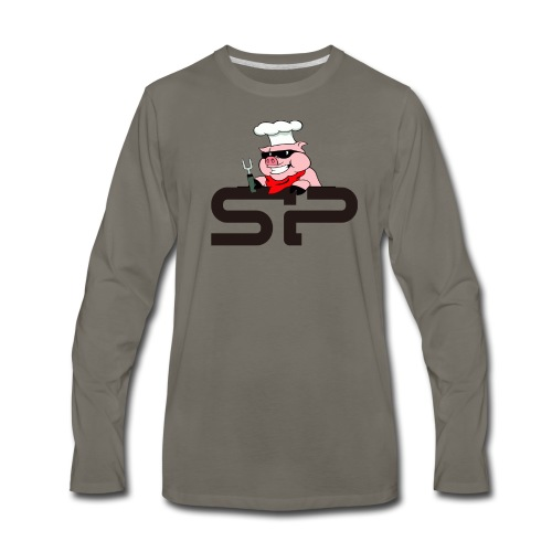 StrangePigs T-shirt - Men's Premium Long Sleeve T-Shirt