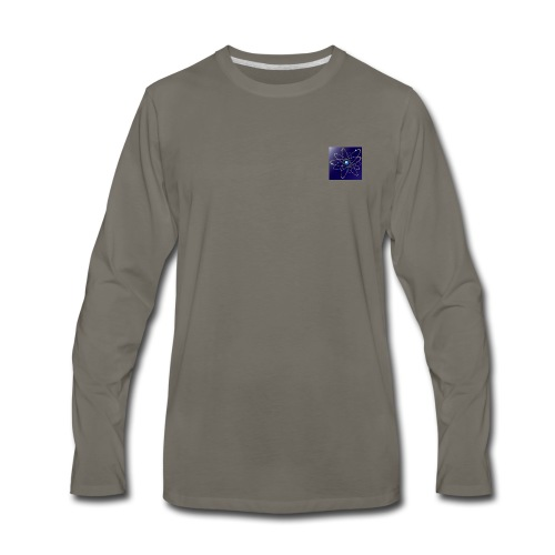 Physics' Logo - Men's Premium Long Sleeve T-Shirt