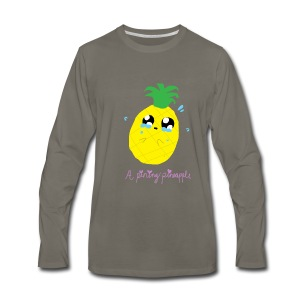Pining Pineapple - Men's Premium Long Sleeve T-Shirt