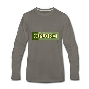 Explore Logo - Men's Premium Long Sleeve T-Shirt