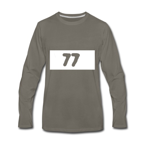 77 aftershock sweater for kids - Men's Premium Long Sleeve T-Shirt