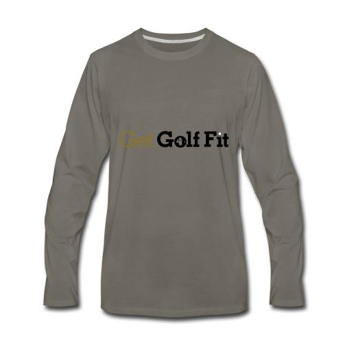 CH GetGolfFit Logo Final Green - Men's Premium Long Sleeve T-Shirt