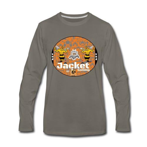 Jacket Gaming - Men's Premium Long Sleeve T-Shirt
