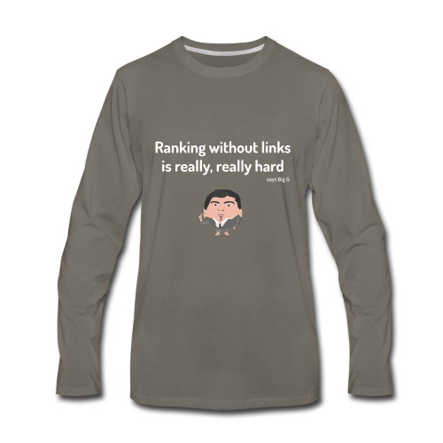Ranking without Links - Men's Premium Long Sleeve T-Shirt