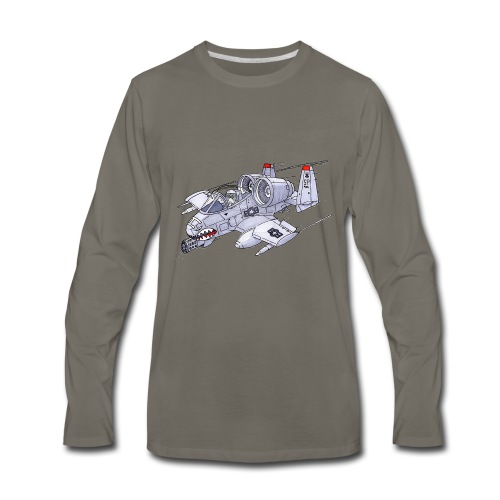 Randy In an A-10 - Men's Premium Long Sleeve T-Shirt