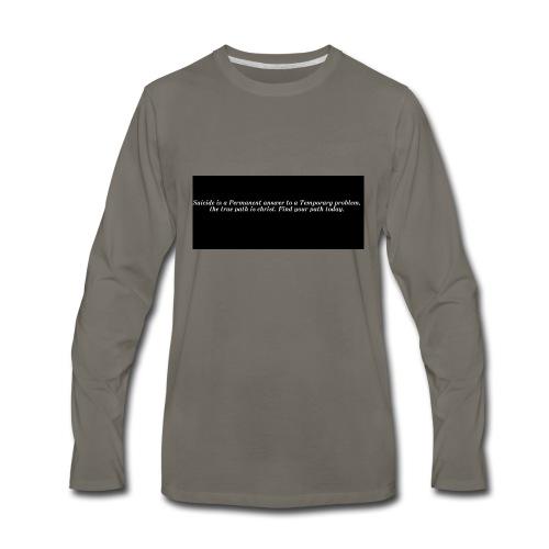 find hope - Men's Premium Long Sleeve T-Shirt