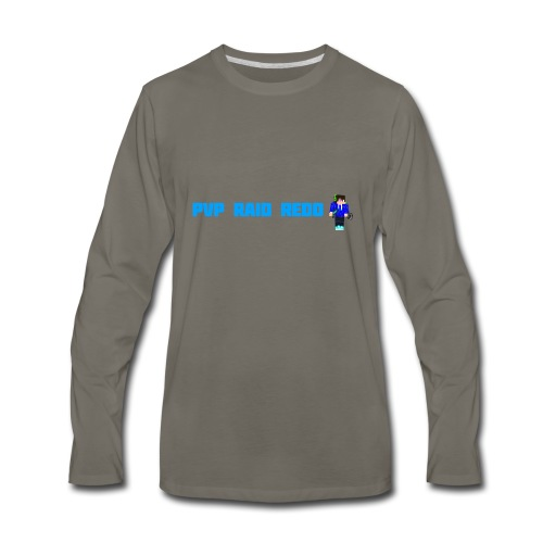 iTzPreston Shirt PvP Raid Redo 2 - Men's Premium Long Sleeve T-Shirt