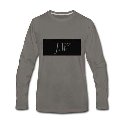 j-w_shirt_ - Men's Premium Long Sleeve T-Shirt