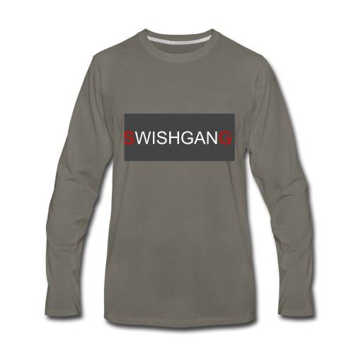 SWISHGANG2 - Men's Premium Long Sleeve T-Shirt