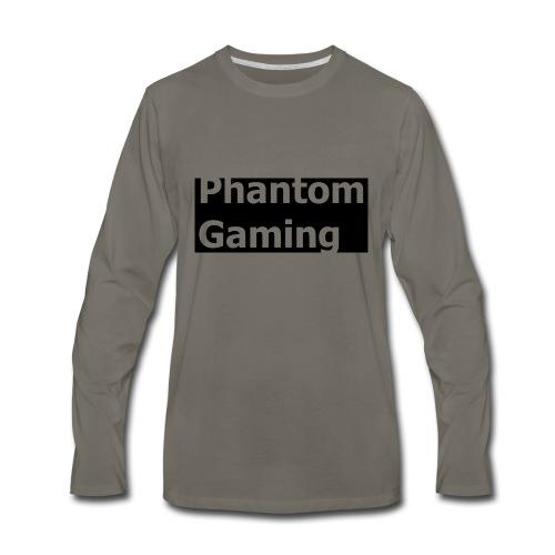 Phantom Shirt No.4 | New Logo Design - Men's Premium Long Sleeve T-Shirt