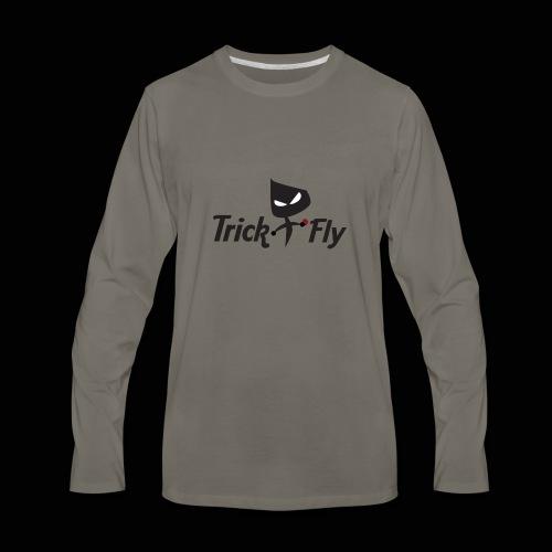 logo_T2F_b - Men's Premium Long Sleeve T-Shirt