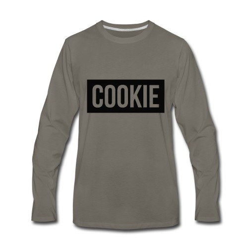 CookieShirtLogo - Men's Premium Long Sleeve T-Shirt