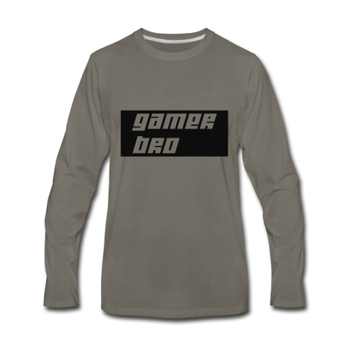 Gamer Bro - Men's Premium Long Sleeve T-Shirt