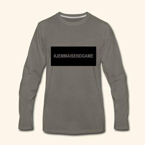 #JEMMAISENDGAME CASE - Men's Premium Long Sleeve T-Shirt