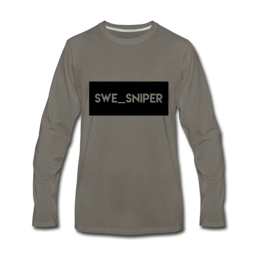 Swe_Sniper Logo - Men's Premium Long Sleeve T-Shirt