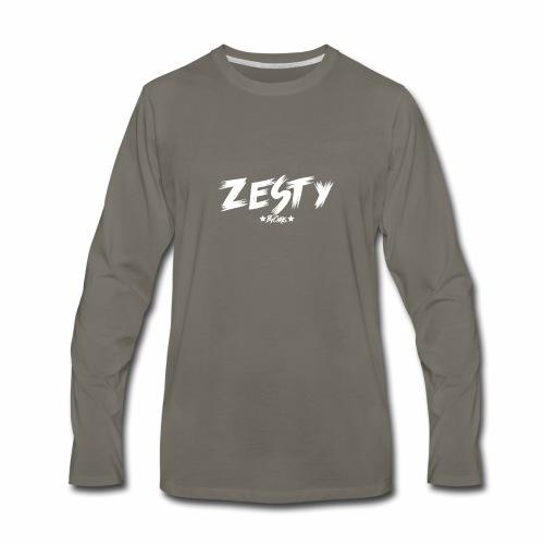 Team Zesty Black Clothing - Men's Premium Long Sleeve T-Shirt