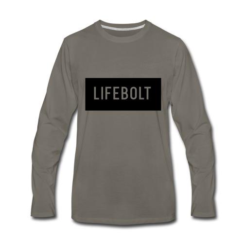 YoutubeName - Men's Premium Long Sleeve T-Shirt