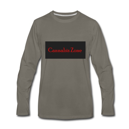 Cannabis Zone - Men's Premium Long Sleeve T-Shirt