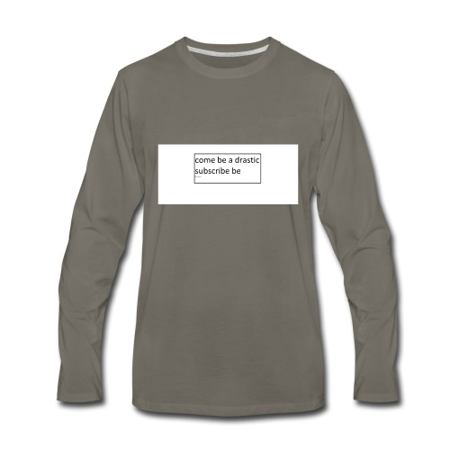 youtube - Men's Premium Long Sleeve T-Shirt
