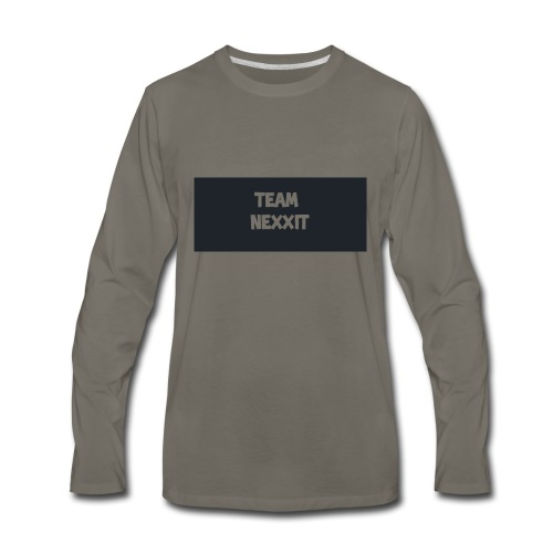 Team Nexxit Logo - Men's Premium Long Sleeve T-Shirt