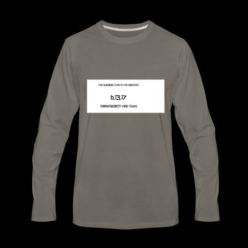 SUPREME CLAN ONE MONTH ANNIVERSARY - Men's Premium Long Sleeve T-Shirt