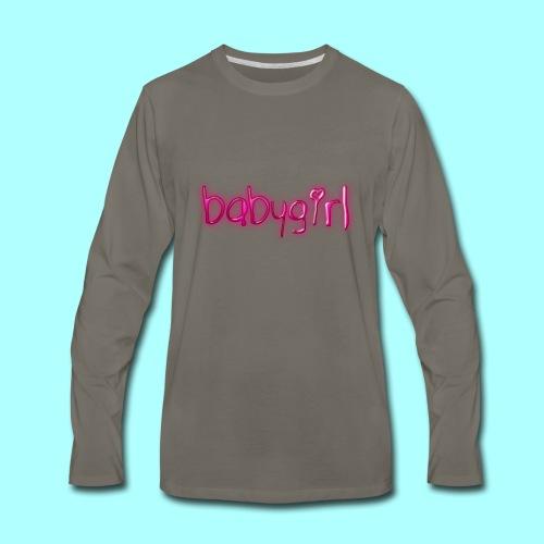 babygirl - Men's Premium Long Sleeve T-Shirt