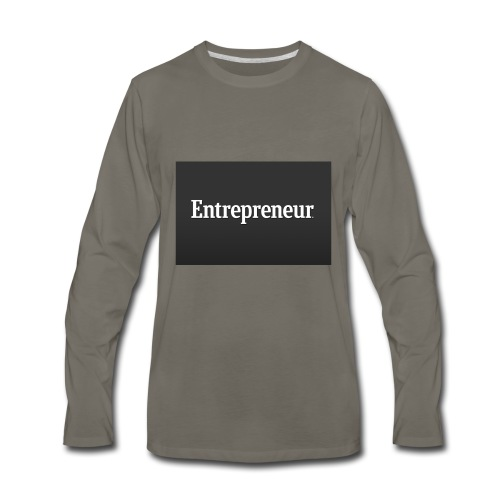Entrepreneur - Men's Premium Long Sleeve T-Shirt