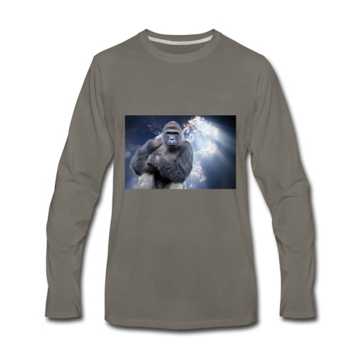 Harambe - Men's Premium Long Sleeve T-Shirt