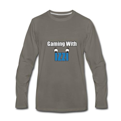 Gaming With Izzi - Men's Premium Long Sleeve T-Shirt
