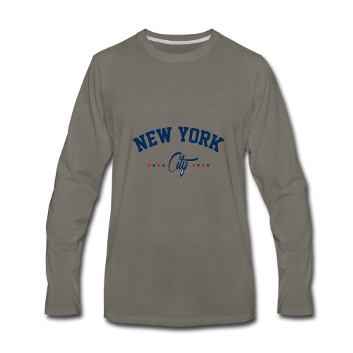New York City Shirt - Men's Premium Long Sleeve T-Shirt