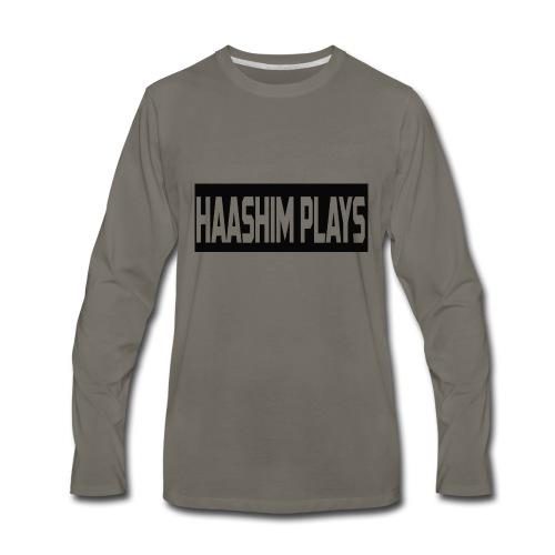 Haashim Plays - Men's Premium Long Sleeve T-Shirt