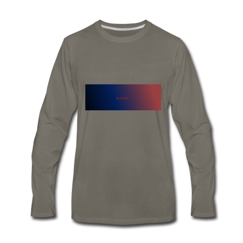 BLASIAN LOGO - Men's Premium Long Sleeve T-Shirt