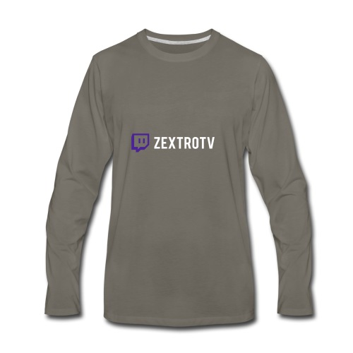 stream - Men's Premium Long Sleeve T-Shirt