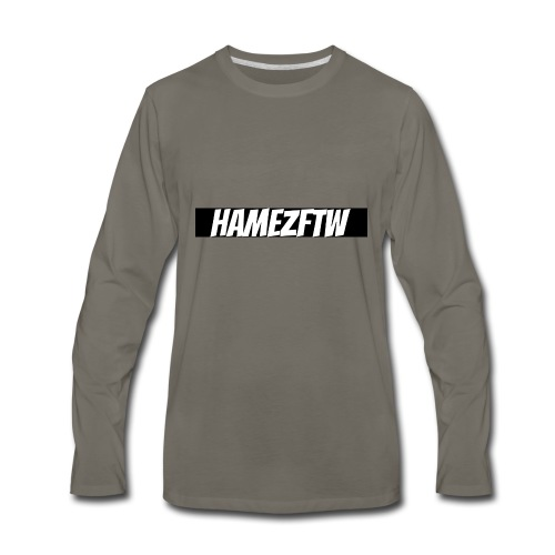pink-youtube-banner-template_18772 - Men's Premium Long Sleeve T-Shirt