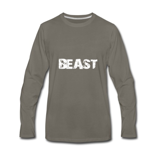 beast tee - Men's Premium Long Sleeve T-Shirt