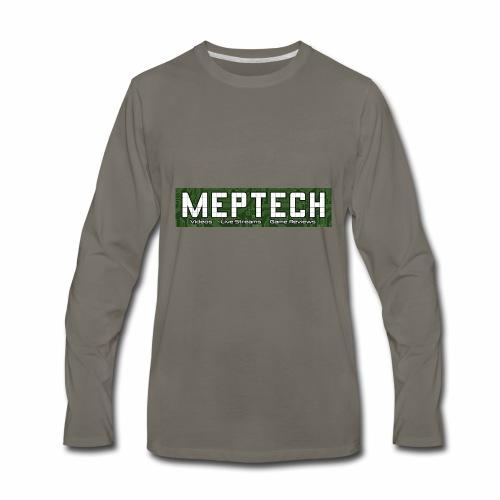 MepTech YTG Logo - Men's Premium Long Sleeve T-Shirt