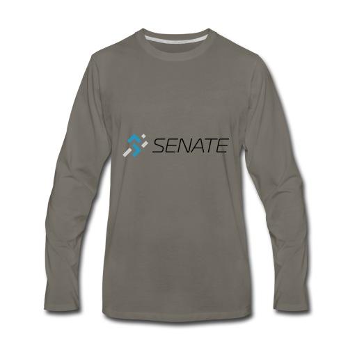 Color-Logo-with-Text - Men's Premium Long Sleeve T-Shirt