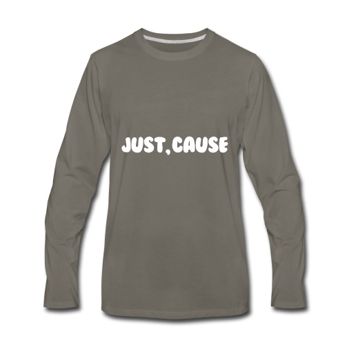 Just Cause Mens T-Shirt - Men's Premium Long Sleeve T-Shirt