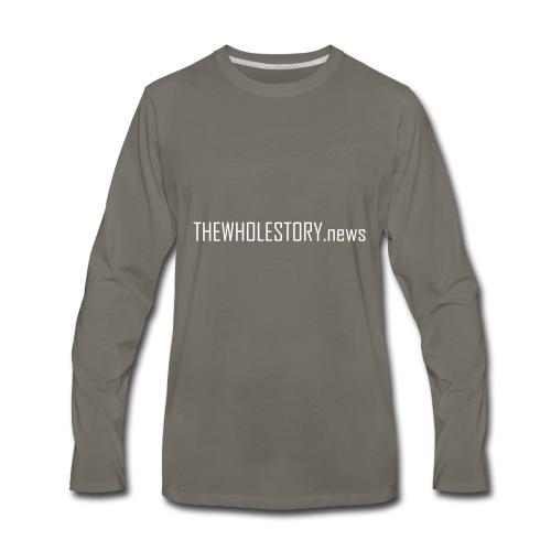 tws back logo - Men's Premium Long Sleeve T-Shirt