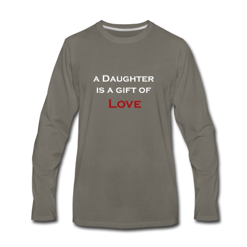 Father's day Graphic T shirt and Collections - Men's Premium Long Sleeve T-Shirt