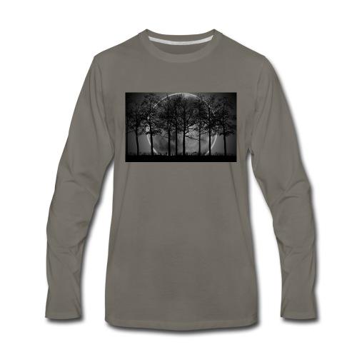 7034869 moon night art - Men's Premium Long Sleeve T-Shirt