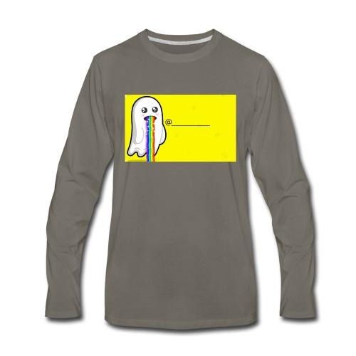 Snapchat - Men's Premium Long Sleeve T-Shirt