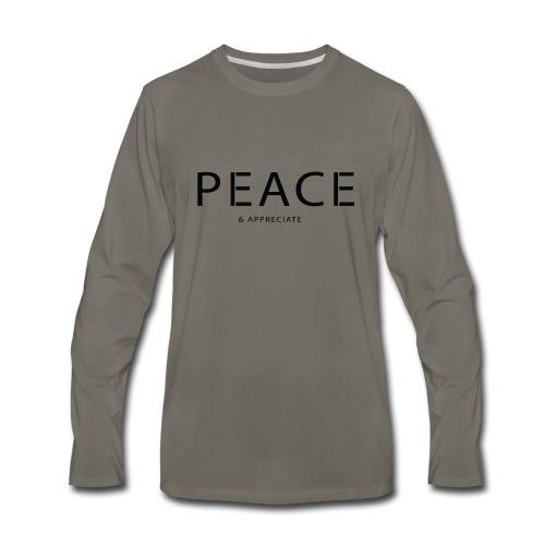 Original Intention - Men's Premium Long Sleeve T-Shirt