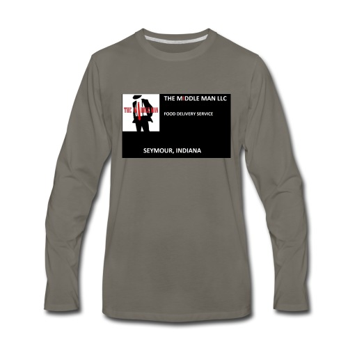 The Middle Man FDS Logo - Men's Premium Long Sleeve T-Shirt