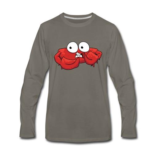Animal engraçado - Men's Premium Long Sleeve T-Shirt