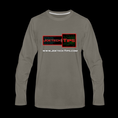 JoeteckTips - Men's Premium Long Sleeve T-Shirt