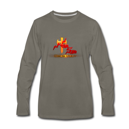 Nova Sera Logo - Men's Premium Long Sleeve T-Shirt