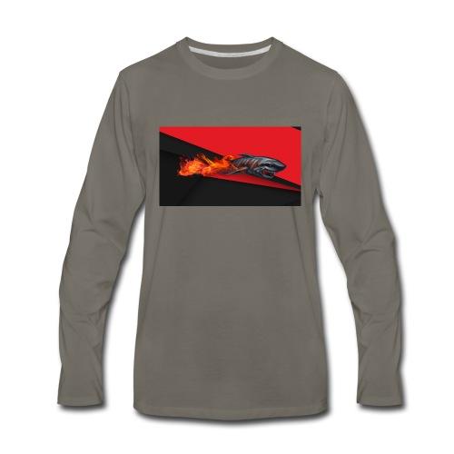 warface_black_shark - Men's Premium Long Sleeve T-Shirt