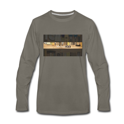 MrJustDIY - Men's Premium Long Sleeve T-Shirt